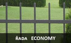 Kované ploty ECONOMY